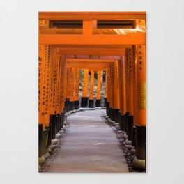 The torii's of Fushimi Inari-taisha - Kyoto Japan photo print | Travel photography Art Print Canvas Print