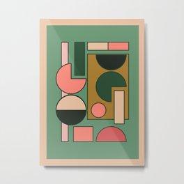 Geometric Abstraction 38 Metal Print