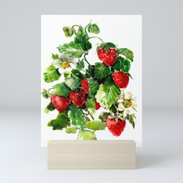 Strawberries Mini Art Print