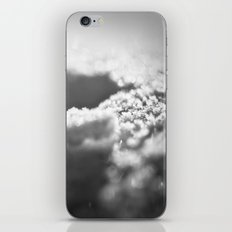 Snow Black and White iPhone & iPod Skin