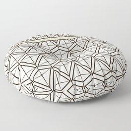 """Art Deco . """"Mirabelle """". Floor Pillow"""