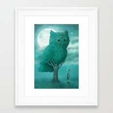 The Night Gardener Framed Art Print