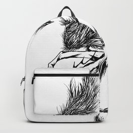 Mermaid fantasy creature Backpack