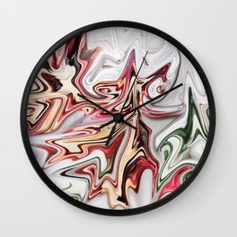 Trimming Roses Wall Clock