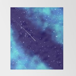 Way to the stars Throw Blanket