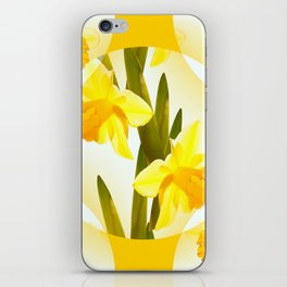 Spring Yellow Flowers #decor #society6 #buyart iPhone Skin