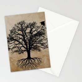 Tree of Life - Crow Tree Modern Farmhouse Decor A823 Stationery Cards