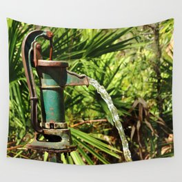 Well Water In The Sun Wall Tapestry