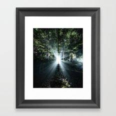 Radiating Light Framed Art Print