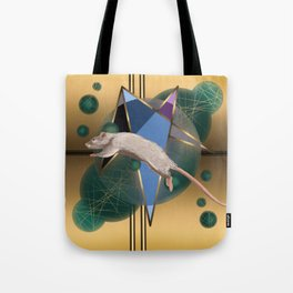 Jumping Mouse Tote Bag