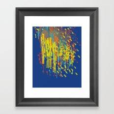 colorfall Framed Art Print