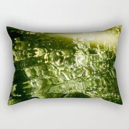 Reflecting Greens Rectangular Pillow