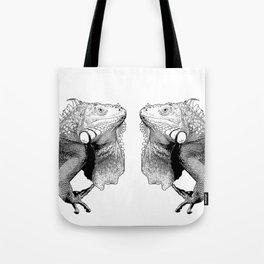Iguanas (animals) Tote Bag