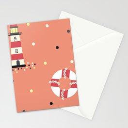 Kids Sailor Elements Stationery Cards