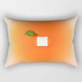 Orange out of the box Rectangular Pillow