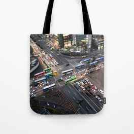 Gangnam at Rush Hour Tote Bag