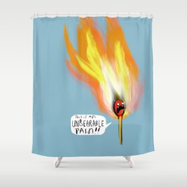 Life Gives You Lemons, and a Combustible Head Shower Curtain