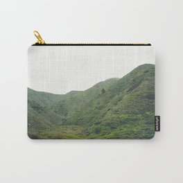 Green Giant | Peaceful Cloudy Nature Landscape Photography of California Hills Carry-All Pouch