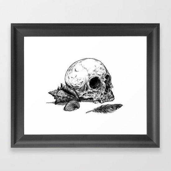 Life Once Lived Framed Art Print