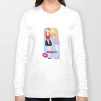 mean girls Long Sleeve T-shirts featuring Mean Girls by Cerys Edwards