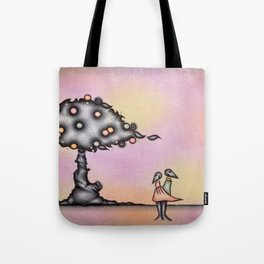 Oldie: Lovers And The Tree Tote Bag