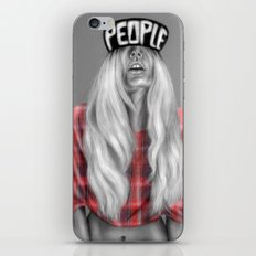 + The Real Her + iPhone & iPod Skin