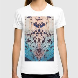 Industrial structure with rust spots T-shirt