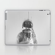 The Space Beyond B&W Astronaut Laptop & iPad Skin