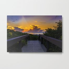 Florida 02 - World Big Beach Metal Print