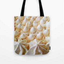 whipped cream mountain range Tote Bag