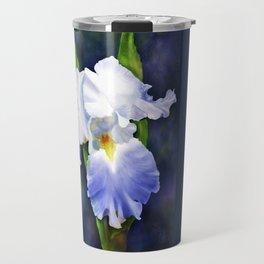Susan's Blue Iris Travel Mug
