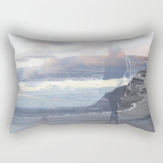 Into the Wave Rectangular Pillow