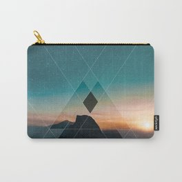 Mountain Landscape Geometric Carry-All Pouch