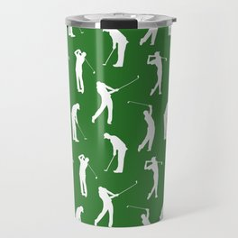 Golfers on the Fairway Travel Mug