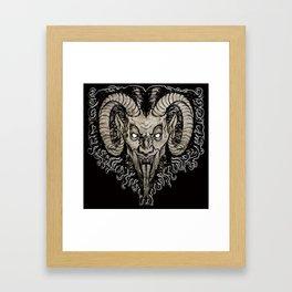 Krampus Nacht Framed Art Print