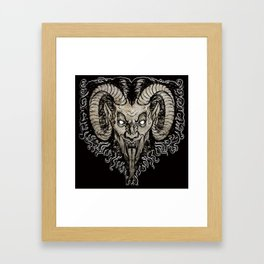 Krampus Nacht Framed Art Print