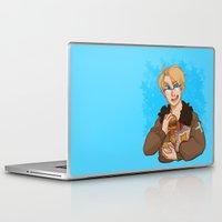 hetalia Laptop & iPad Skins featuring Stars by kitkatkatee