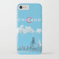 Chicago - Light blue iPhone 7 Slim Case