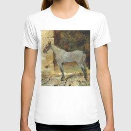 """Henri de Toulouse-Lautrec """"Cheval attaché"""" T-shirt"""