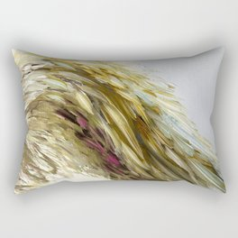 Once Upon A Wing of Yellow Rectangular Pillow