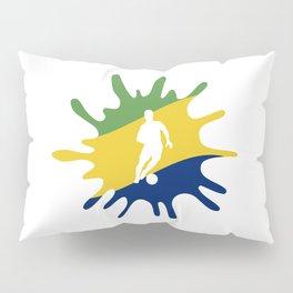 The Flag of Brazil II Pillow Sham