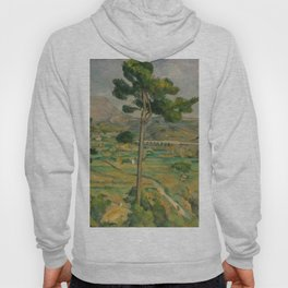 """Paul Cezanne """"Mountain Sainte-Victoire and the Viaduct of the Arc River Valley"""" Hoody"""