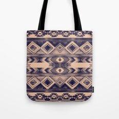 Southwest Pattern- Peach & Purple Tote Bag