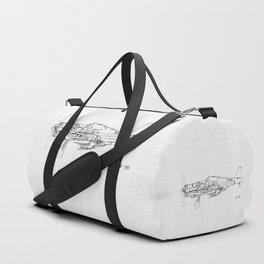 FW - 190 ( B & W) Duffle Bag