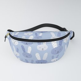 Blue Bunny Fanny Pack