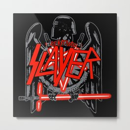 Resistance Slayer Metal Print