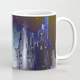 Walls in the Night - UFOs in the Sky Coffee Mug