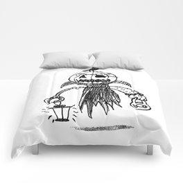 Jack o latern Comforters