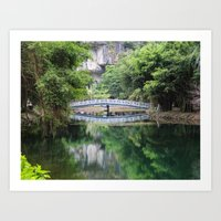 vietnam Art Prints featuring Vietnam by Steven J Williams