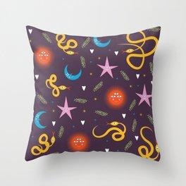 It's a SSS-SNEK! Throw Pillow